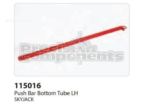 SkyJack Push Bar Bottom Tube LH, Part #115016