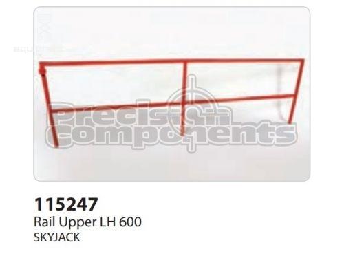 SkyJack Rail Upper LH 600, Part #115247