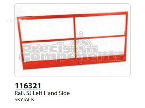 SkyJack Rail, SJ Left Hand Side, Part #116321