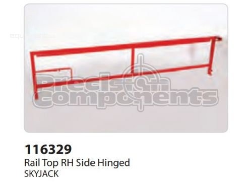 SkyJack Rail Top RH Side Hinged, Part #116329