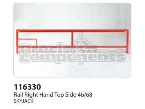 SkyJack Rail RH Top Side 46/68, Part 116330