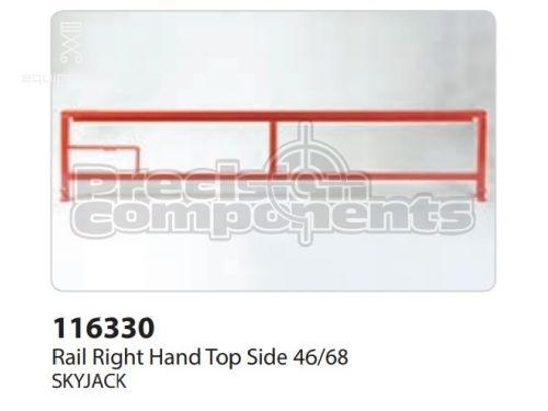 SkyJack Rail RH Top Side 46/68, Part #116330