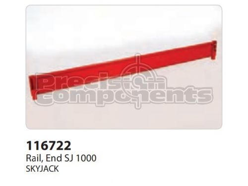 SkyJack Rail, End SJ 1000 - Part Number 116722