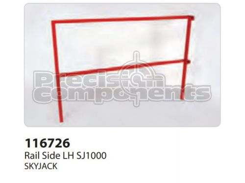 SkyJack Rail Side LH SJ1000, Part 116726