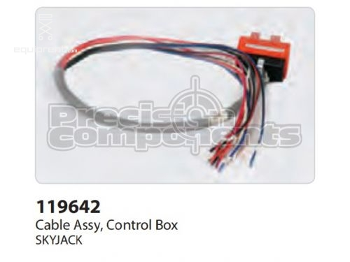 SkyJack Cable Assy, Control Box, Part #119642