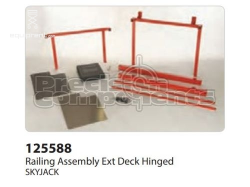 SkyJack Railing Assembly Ext Deck Hinged, Part #125588