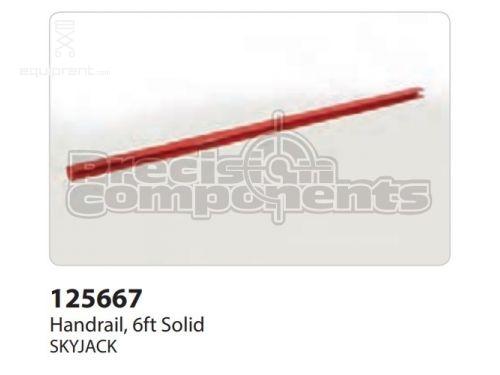 SkyJack Handrail, 6ft Solid, Part #125667