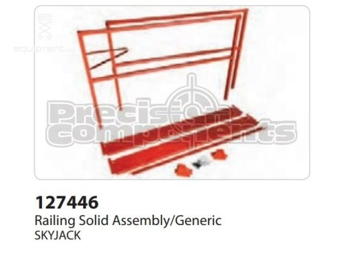 SkyJack Railing Solid Assembly/Generic, Part #127446