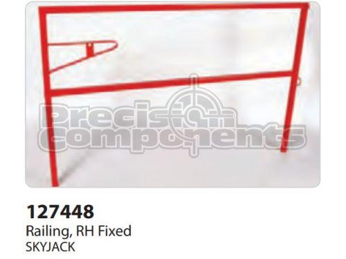 SkyJack Railing, RH Fixed - Part Number 127448