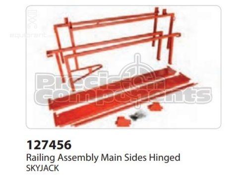 SkyJack Railing Assembly Main Sides Hinged, Part #127456