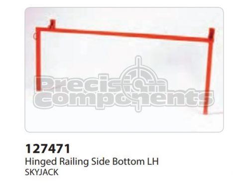 SkyJack Hinged Railing Side Bottom LH - Part Number 127471
