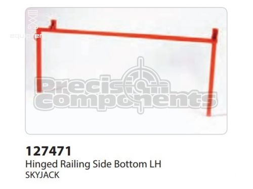 SkyJack Hinged Railing Side Bottom LH, Part #127471