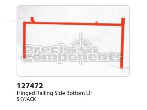 SkyJack Hinged Railing Side Bottom RH, Part #127472
