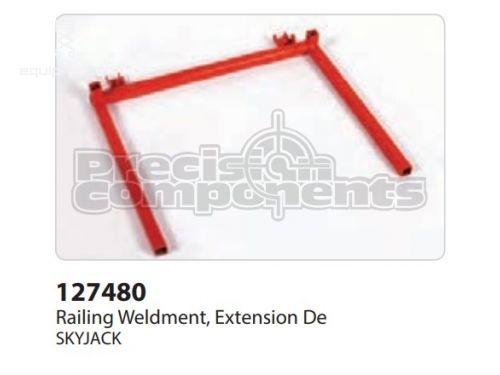 SkyJack Railing Weldment, Extension De, Part #127480