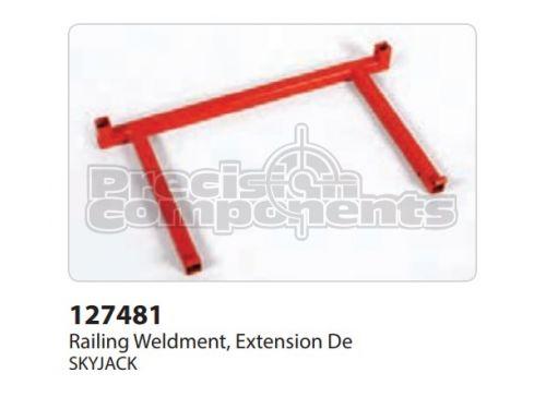 SkyJack Railing Weldment, Extension DE - Part Number 127481