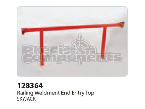 SkyJack Railing Weldment End Entry Top - Part Number 128364