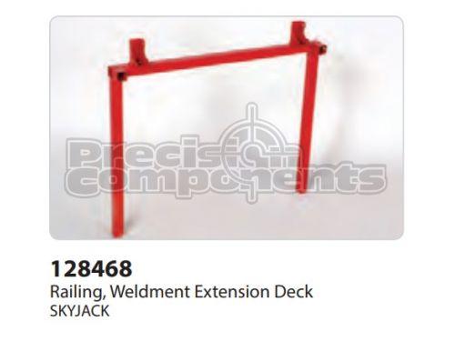 SkyJack Railing, Weldment Extension Deck - Part Number 128468