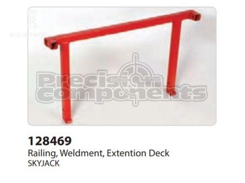 SkyJack Railing, Weldment Ext Deck, Part #128469
