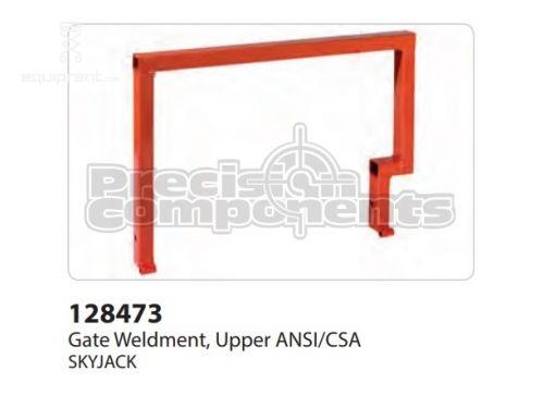 SkyJack Gate Weldment, Upper ANSI/CSA, Part #128473