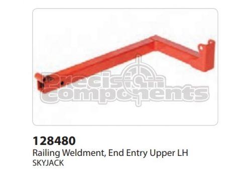 SkyJack Railing Weldment End Entry Upper LH - Part Number 128480