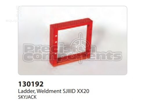 SkyJack Ladder, Weldment SJIIID XX20, Part #130192