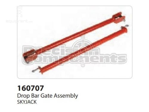 SkyJack Drop Bar Gate Assembly, Part #160707