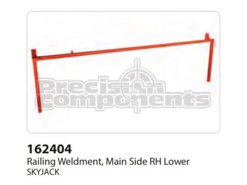 SkyJack Railing Weldment, Main Side RH Lower - Part Number 162404