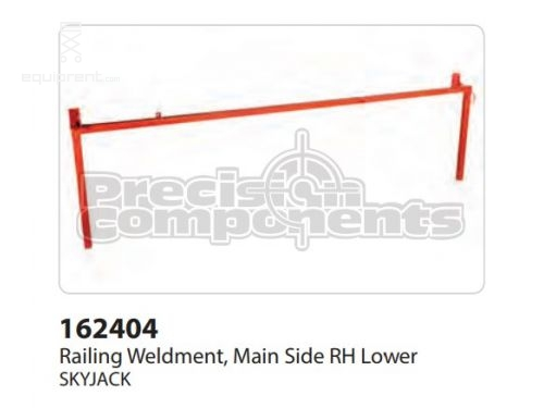 SkyJack Railing WLDT, Main Side RH Lower, Part #162404