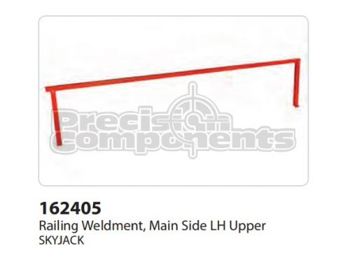 SkyJack Railing Weldment, Main Side LH Upper - Part Number 162405