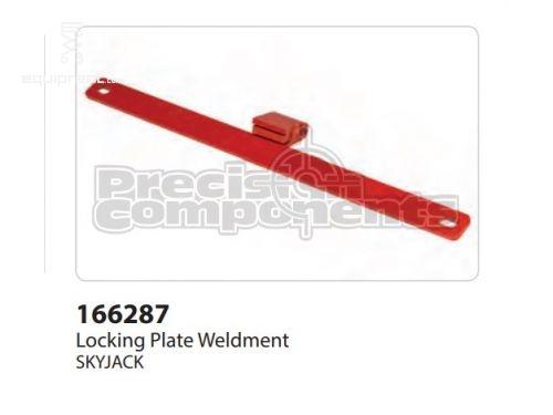 SkyJack Locking Plate Weldment, Part #166287