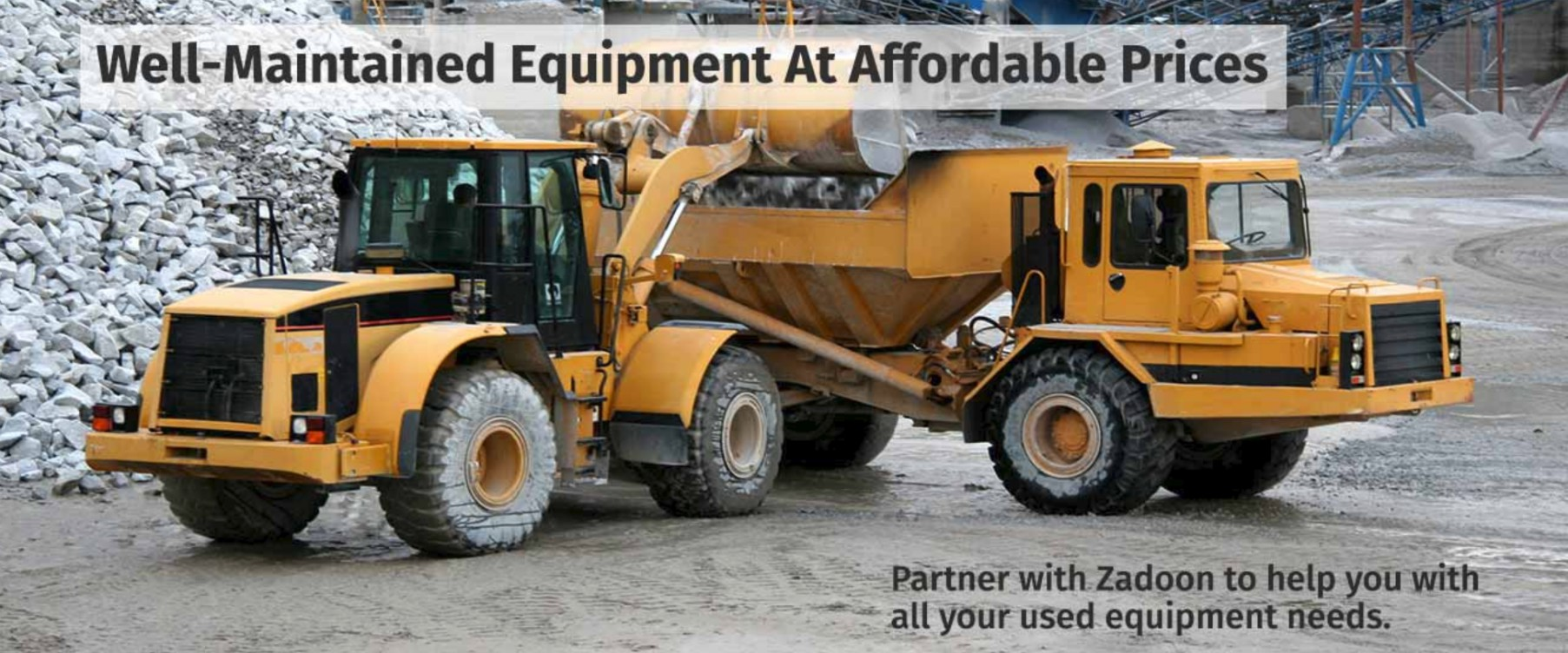 Zadoon Equipment Sales